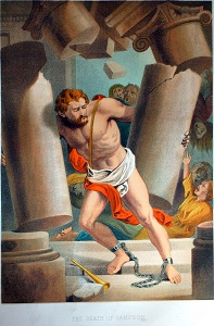 The Death of Samson. Click to enlarge. See below for provenance.
