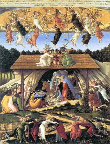 The Mystical Nativity, by Botticelli